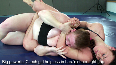 Female Wrestling Domitia Vs Lara